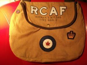 RCAF SHOULDER MESSENGER BAG — KHAKI