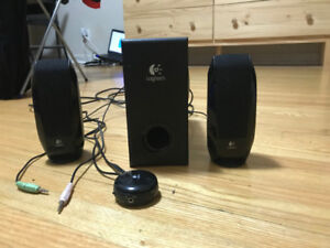 Logitech PC speakers with subwoofer