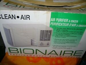 BIONAIRE ROOM AIR PURIFIER & IONIZER