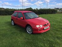 Rover 25 MG ZR lookalike only 60300miles!!