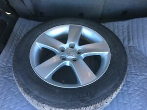 17 inch Mazda alloy rims and tires