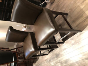 Counter height barstools $200.00 for 2