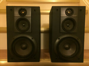 Pioneer S-P410V Book Shelf Speakers HiFi