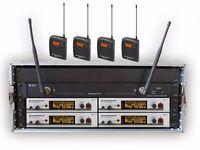 radio mic rack trantec or senneheiser g3