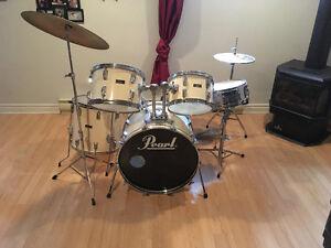 Drum Pearl Wood-fiberglass