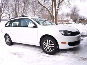 VOLKSWAGEN GOLF 2011 COMFOTLINE 2.5 Wagon manual