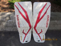 BAUER SUPREME TOTAL ONE GOALIE PADS