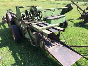 Older small farm equipment