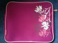 Pink lap top bag