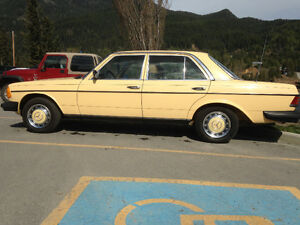 1981 Mercedes-Benz 200-Series Sedan