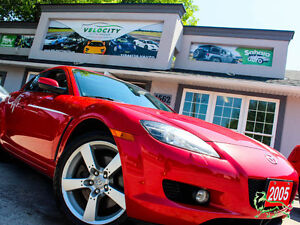 '05 Mazda RX-8 GT+BOSE+6-Speed+HeatedSeats+MINT! Only $73/Pmts!!