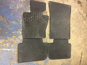 BMW X3 OEM RUBBER FLOOR MATS X4 2007-2013