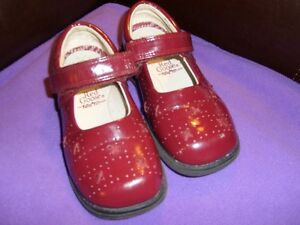 Red Goose Burgundy Mary Jane Style Shoes Size 9