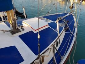 Westerly 25 Sailing Yacht Boat