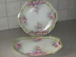 LOVELY SHABBY CHIC/VINTAG/ANTIQUE PLATES