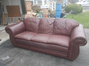 Couch, chair, table for sale