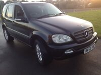 MERCEDES ML 2.7 Desil 7 seater ( 2003 years ) very good condition