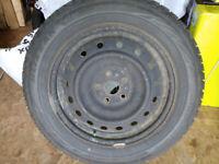 225/60/R17 Bridgestone Blizzak Winter tires on Rims
