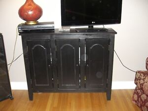 2 Compact Pier One Condo-size handmade sideboards