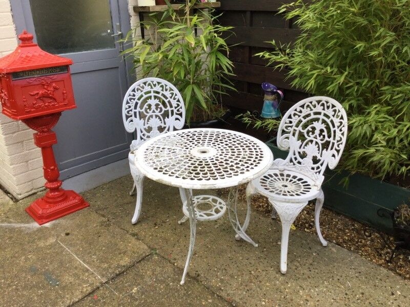 garden table and chairs used garden furniture kings lynn - Garden Furniture King