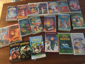 cassettes vhs films enfants Disney