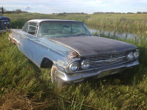 1960 Chev Impala for restoration
