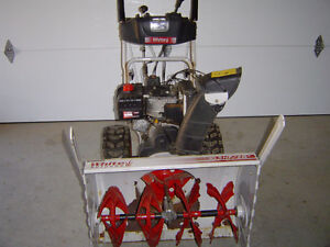 TRADE 10.5HP, 28 inch cut with Electric Start SNOWBLOWER for ATV Peterborough Peterborough Area image 1