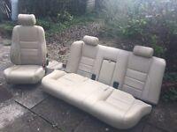 Jaguar car seats