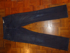 RAG AND BONE Blue Brown Resin Jeans, Size 32 New!
