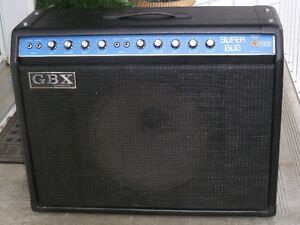 Vintage Made in Canada G.B.X. Combo Amp