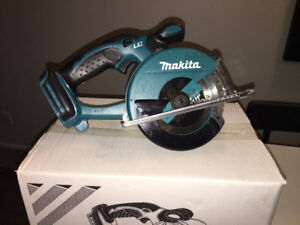 "Makita 18v LXT 5-3/8"" Metal Cutting Saw (Tool Only) DCS550Z"