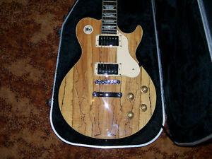 Greg Bennett Avion 6 Ltd. Ed. Spalted Maple Top Electric Guitar! West Island Greater Montréal image 4