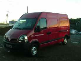 Nissan Interstar(MASTER MOVANO) 100 DCI 6 SPEED MWB LOW MILES 2009