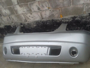 Used factory front bumper from a 2007-14 GMC Yukon (BP0198)
