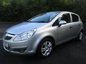 10/10 VAUXHALL CORSA ENERGY 1.2 5DR HATCH IN MET SILVER