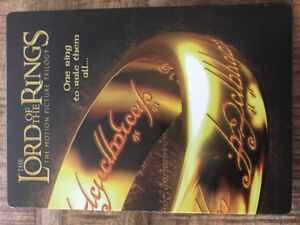 The Lord of the Rings Motion Picture Steelbook DVD set