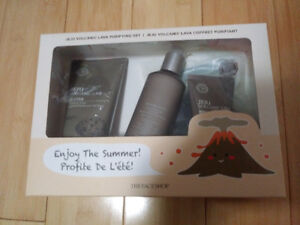 The face shop purifying set