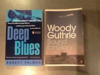 Blues music books and general