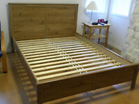Bed Frame,Queen size, duel function