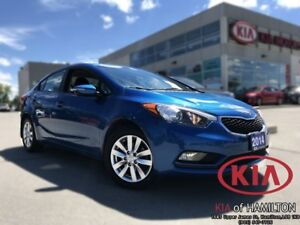 2014 Kia Forte LX+ | One Owner | Low KM | Beautiful Colour!