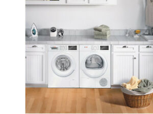Bosch 300 series washer and dryer pair (mint condition)