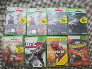 XBOX 360 games for sale! Pre-played. Everything for $40