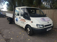 2003 53 Ford Transit Tipper Double Cab 3 Way Tipper only done 65k LOW MILES P/X