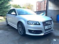 AUDI S3 8P 2.0 TFSI QUATTRO FULLY LOADED FSH HEATED LEATHER TUNED 315BHP 430NM GTI S4 S5 R32 R