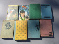 Antique books in good used condition Nancy Drew etc.