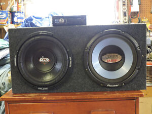 Kicker cx and Sub woofer  Speakers