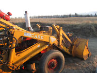 heavy duty loader parting out tractor