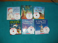 Primary Reading Books with Cd Christmas Theme