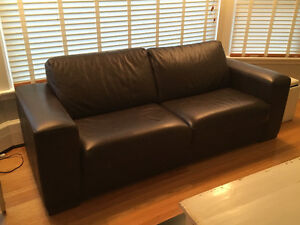 High Quality Top Grade Leather Sofa and Loveseat St. John's Newfoundland image 2