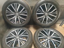 16 inch 5x112 genuine Volkswagen Golf mk7 alloy wheels